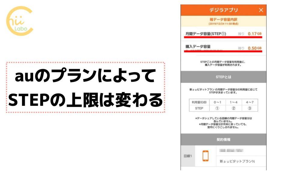 デジラアプリの詳細画面