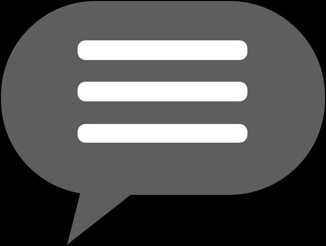 通知メッセージのフリーイラスト(notification)