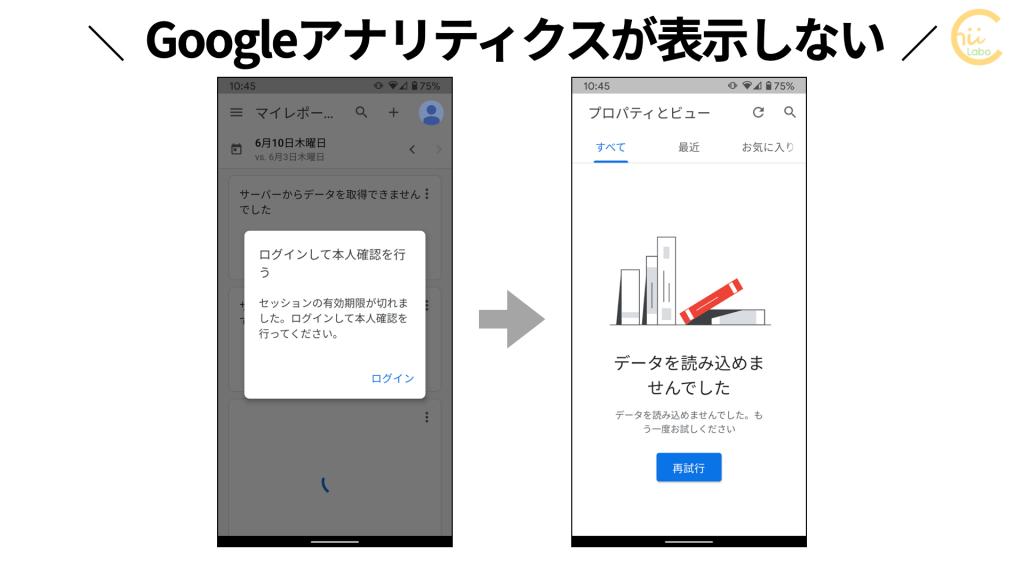Googleアナリティクスでサーバーからデータを取得できない
