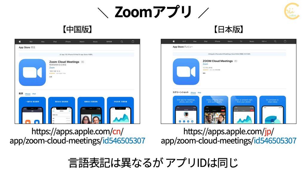 zoom.com.cnから提供されるZoomアプリ(iOS)