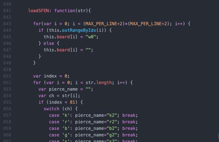 SFEN形式データを読み込む関数